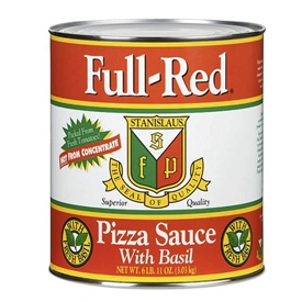 full red pizza sauce stanislaus tomatoes