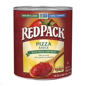Red pack Pizza Sauce with Basil