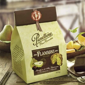 Flamigni Pear and Chocolate Panettone