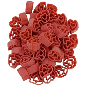 "Red Hearts ""Cuoricini"" Colored Pasta"