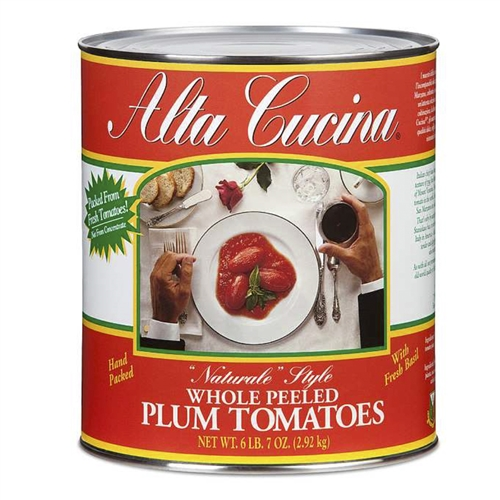 Alta Cucina Whole Plum Tomatoes Tomatoes Gourmet Italian Food Store