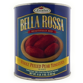 Bella Rossa Whole Peeled Pear Tomatoes in Juice