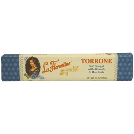 La Florentine Almonds with Hazelnuts Torrone Bar