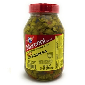 Marconi Hot Giardiniera 32 oz