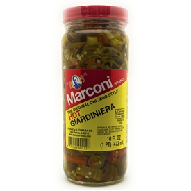 Hot Giardiniera 16 oz