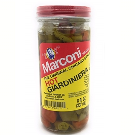 Hot Giardiniera 8 oz