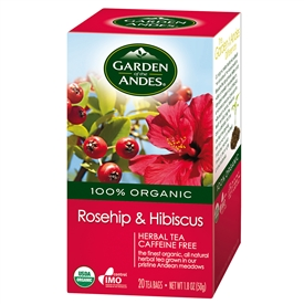 Organic Rosehip and Hibiscus Tea