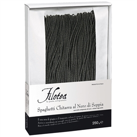 Filotea Spaghetti with Squid Ink Egg Pasta