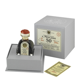 "50 Year ""Il Privilegio"" Traditional Balsamic Vinegar"