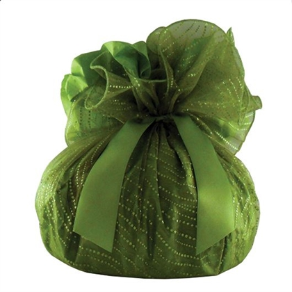 Tropical Fruit Panettone Green Wrapped