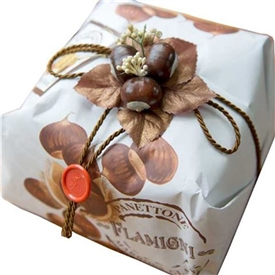 Marrons Glaces Panettone Hand Wrapped