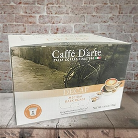 Caffe D'arte Decaffeinated Serve Cups