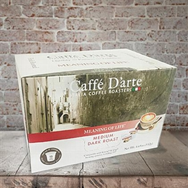 Caffe D'arte Meaning of Life Serve Cup