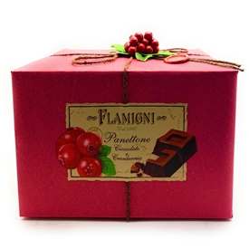 Flamigni Cranberry Panettone