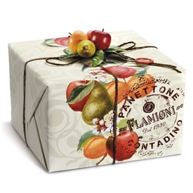 Flamigni Peach Apricot Apple and Pear Panettone