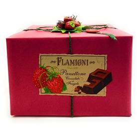 Flamigni Strawberry Panettone
