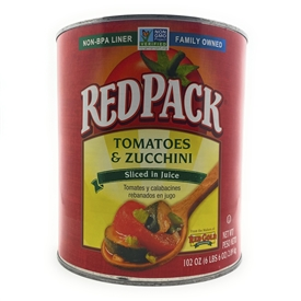 RedPack Tomatoes and Zucchini
